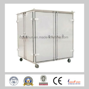 Gzl-100 China High Viscosity Lube Oil Purifier/ Lubricating Oil Recycle Machine/ Hydraulic Oil Cleaning Equipment pictures & photos