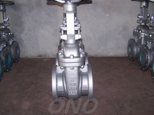 ANSI Industrial Stainless Steel Flange End Rising Stem Gate Valve pictures & photos