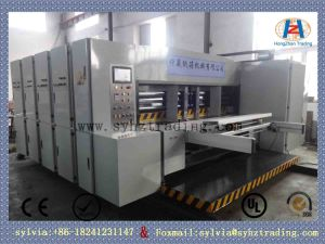 QS1200-C Automatic Double Color Offset Flex Printing and Rotary Die-Cutting Machine/Made in China