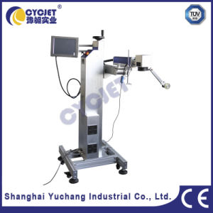 Lf30f Laser Marking Machine for White PVC Pipes pictures & photos