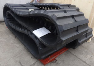 600X100X78 (76-80) Links Big Rubber Tracks for Big Excavator and Agricultural Crawler Machine