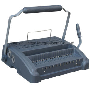 Office Use Manual Comb and Wire Book Binding Machine HP-7588cw pictures & photos
