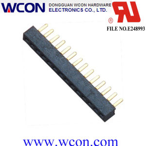 1.27mm Single Row 180 Degrees DIP Female pictures & photos