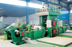 Hydraulic Agc Four High Reversible Cold Rolling Machine