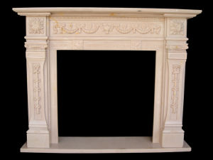 Marble Fireplace (FRP324) pictures & photos