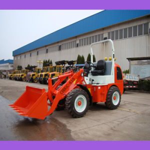 Small Size 4WD Hydraulic Front Loader