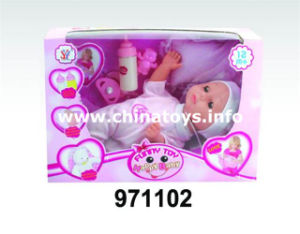 New Environmental Sleeping Baby Doll Toy (971102) pictures & photos