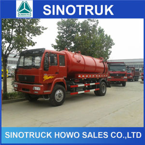 16-20 Cubic Volume 6X4 6X6 Tanker Sewage Sucking Truck pictures & photos