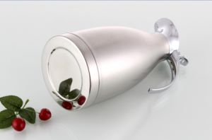 1000ml 18-8stainless Steel Vacuum Kettle with Steel Cover (WSB-003) pictures & photos