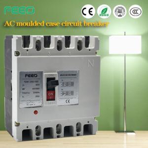 Cm1 4pole Moulded Case Circuit Breaker MCCB pictures & photos