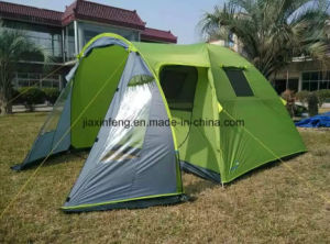 1 Lobby 1 Room Outdoor 2 Layer Camping Tent