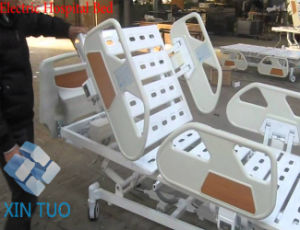 Multi-Function electric Hospital Bed Ce Approved for ICU Room pictures & photos