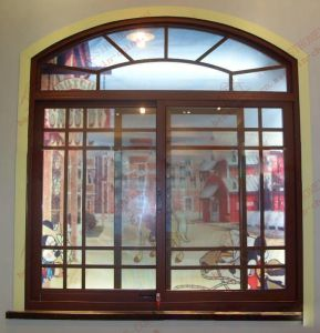 Australian Standard Arched Sliding Window (BHA-SWA07) pictures & photos