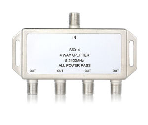 4way 5-2500MHz Smatv Splitter (SHJ-SS014) pictures & photos