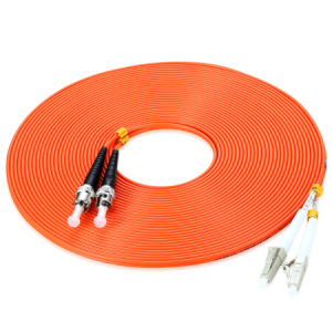 LC-St Optical Fiber Patch Cord Multimode Duplex 50/62.5 pictures & photos