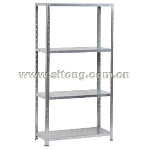 Free Standing Four-Shelf Metal Shelf Storage Steel Storage Rack (DX-04) pictures & photos