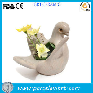 Mini Handcraft Pigeon Home Decorative Flowerpot pictures & photos