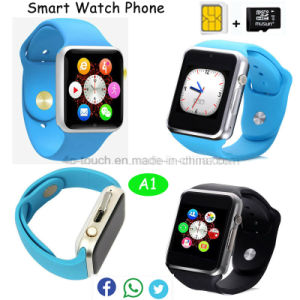 Cheapest Fitness Tracker Camera Smart Watch with SIM Card-Slot A1 pictures & photos