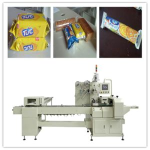 on Edge Biscuit Pillow Packing Machine pictures & photos