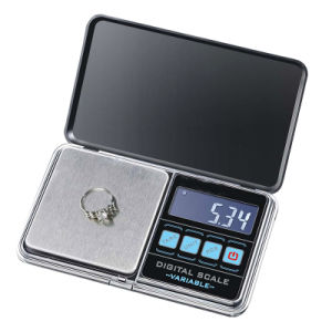 Backlight Jewelry Scale with AAA Battery (XF-DP01B) pictures & photos