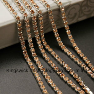 High Quality Rhinestone Cup Chain for Jewelry pictures & photos