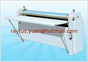 Pneumatic Hydraulic Cardboard Laminator for Thick Paperboard pictures & photos