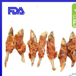 Dried Fish Chicken Cat Treats Products Small Animal Food pictures & photos