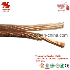 Cheaper Price CCA Wire Speaker Cable 2X1.5mm 2X2.5mm 2X4mm pictures & photos
