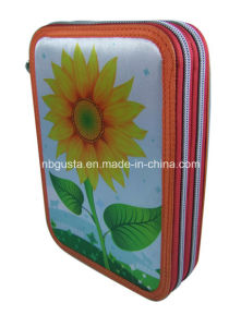 2 Zipper Pencil Case (PD-14QJ13)