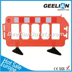 Plastic Road Safety Barrier, Plastic Pedestrian Barrier pictures & photos