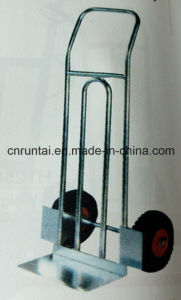 China Salable Zinc Plated / Galvanized Hand Trolley with Two Wheels pictures & photos