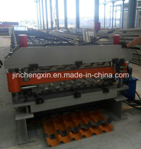 Metal Roof Sheet Roll Forming Machine pictures & photos