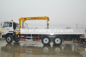 12tons Dongfeng 6X4 Truck with Crane pictures & photos