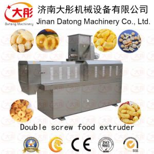 Fully Automatic Corn Snack Machine/Snacks Food Extruder pictures & photos