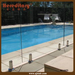 Frameless Glass Railing / Swimming Pool Fence (SJ-S423) pictures & photos