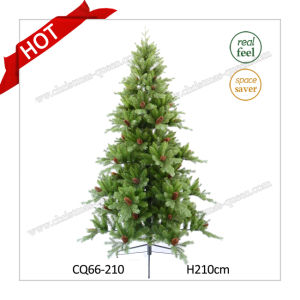 H4-10FT Artificial Christmas Tree Plastic Christmas Decoration Christmas Tree with Ce Certificate pictures & photos
