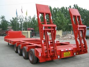 Sinotruk 110t Low Flatbed Trailer (QDZ5110LBT) pictures & photos