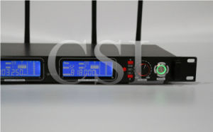 PRO Audio UHF Two Channel Karaoke Wireless Microphone with FCC pictures & photos