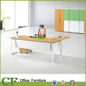 Fashion Dia Frame Office Desk with MFC Desktop pictures & photos
