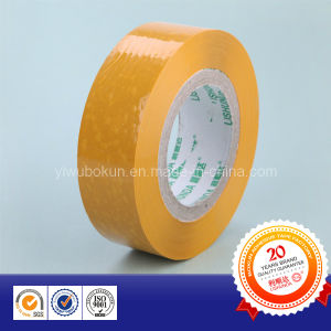 BOPP Adhesive Carton Packing Tape in Earthyellow pictures & photos