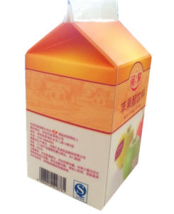 500ml Milk/Juice/Cream/Wine/Yoghurt Box/ Carton with Caps pictures & photos