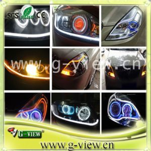 Unique Dual-Color 7W Flexible LED Car Daytime Running Lights