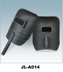 CE Welding Mask, PP Material with Handle pictures & photos