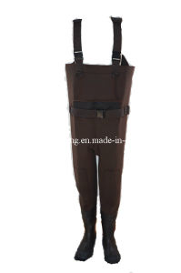 Waterproof High Chest Fishing Wader/Tackle (HX-FW0011) pictures & photos