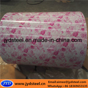 Flower Design Color Coated Steel Coil/PPGI pictures & photos