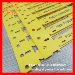 UL Standard Heat Resistant Cable Marker Tags pictures & photos
