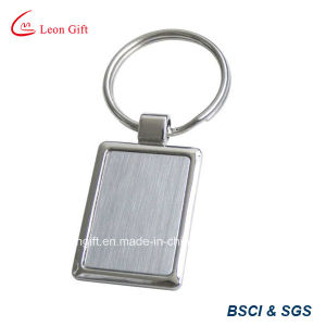 Blank Metal Round Keychain for Custom Laser Logo pictures & photos