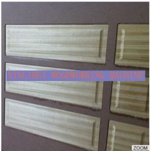 Interior Nature Wood Veneer Door Skin Moulding Press Machine pictures & photos