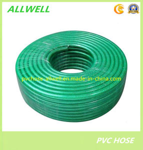 "PVC Flexible Reinforced Fiber Braided Water Irrigation Garden Hose 1/2"" pictures & photos"