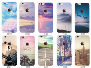 High Quality Custom Design Landscape Cell Phone Case for iPhone 6 6s for Samsung Galaxy S7 TPU Phone Case pictures & photos